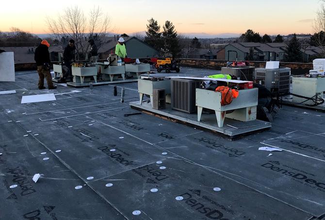 Commercial Roof Repair